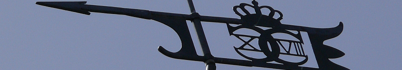 The Weather Vane on top of Nyord Church, Møn, JHe 2008